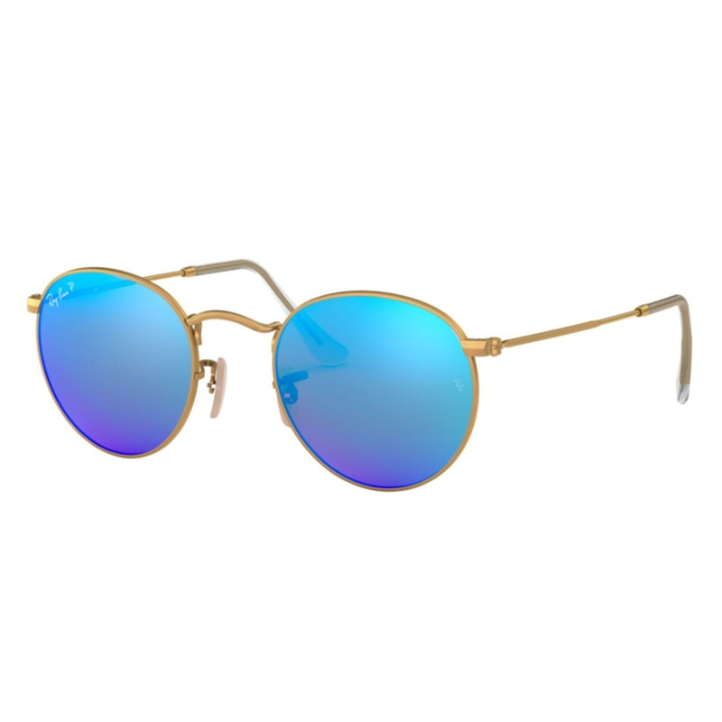 ray ban rb3447  ray ban xinghao: rb3447-round-metal-polarized